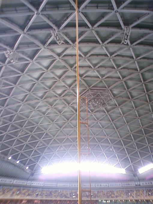 ナゴヤドームのポール
