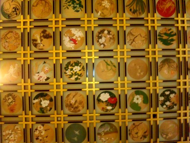 永平寺、なんとかの間の天井