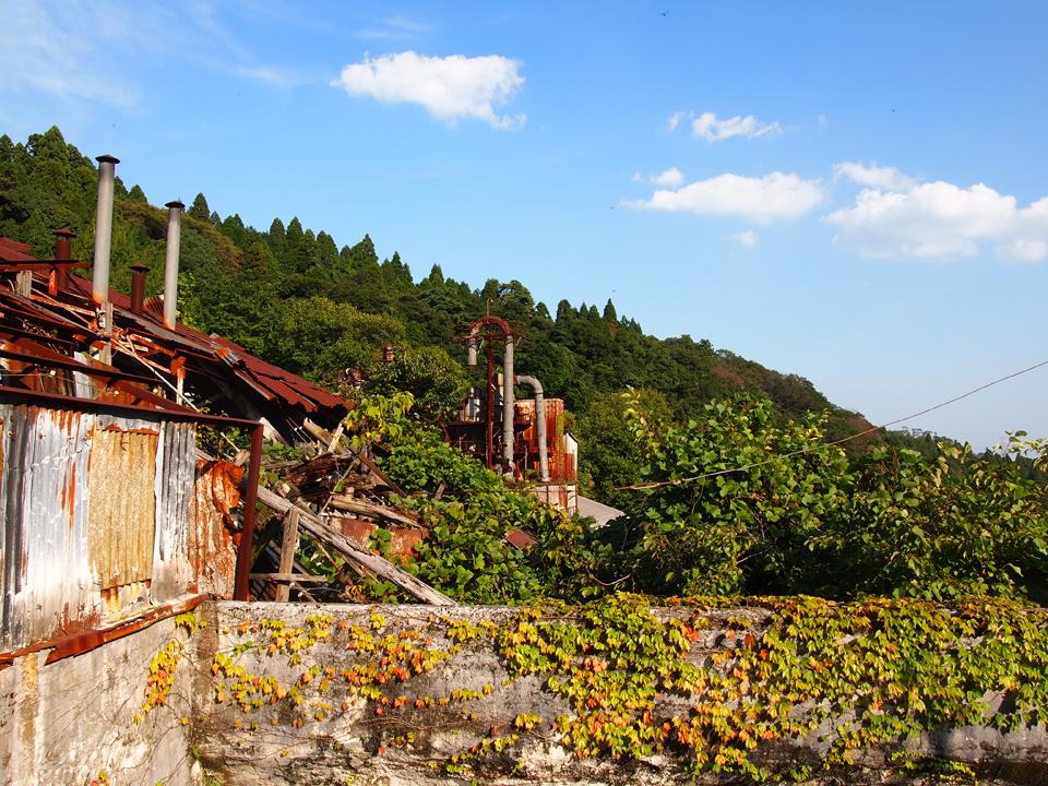 廃墟画像:白石鉱山