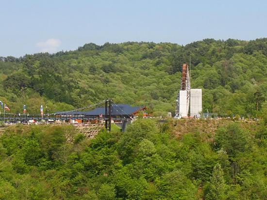 日本最大の水車と小里川ダム[恵那]