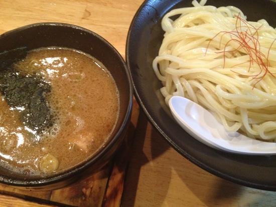 岐阜県関市 つけ麺「麺屋 白神」