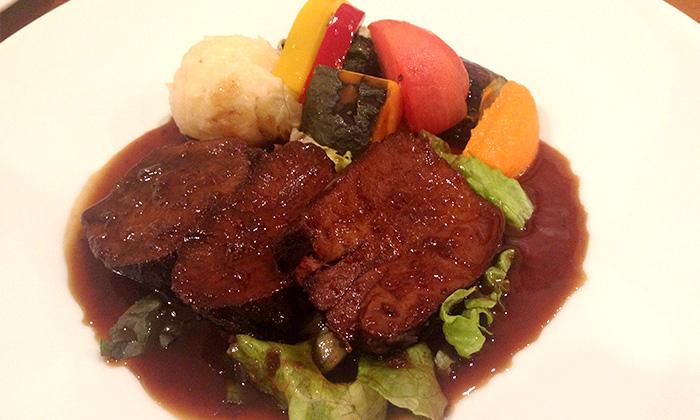 大垣の洋食屋mokurenのビーフシチュー