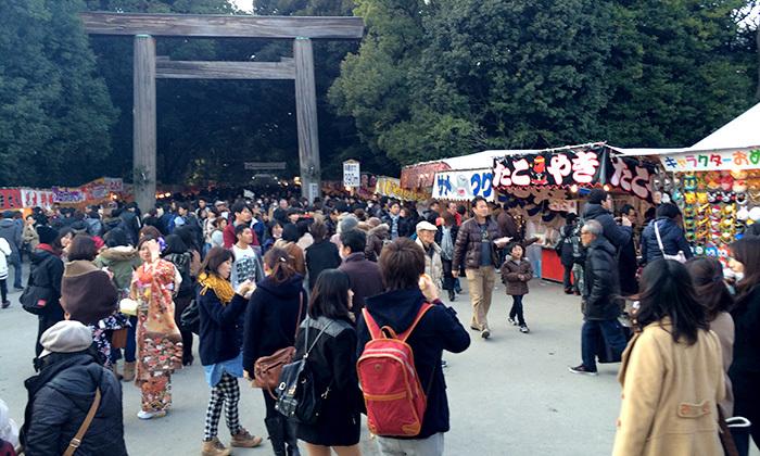 初詣で熱田神宮に行ってきた