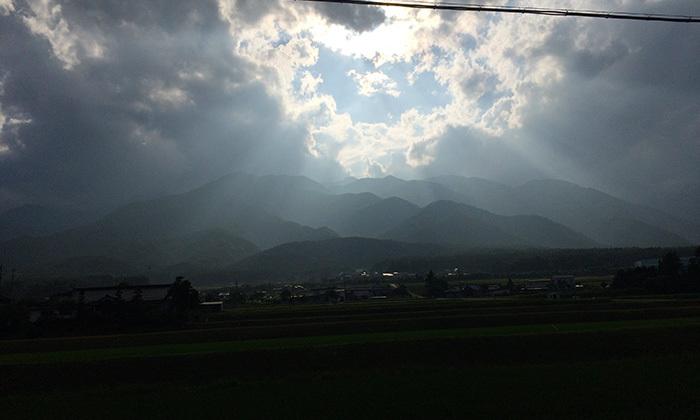 信州松川さくらんぼ刈りあじさい寺温泉ソースカツ丼の旅