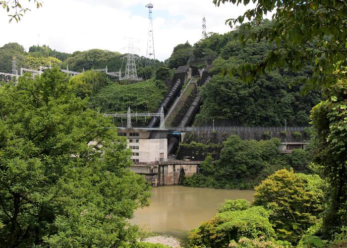 丸山ダム変電所
