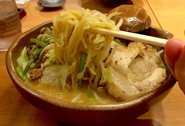 麺屋壱正味噌ラーメン