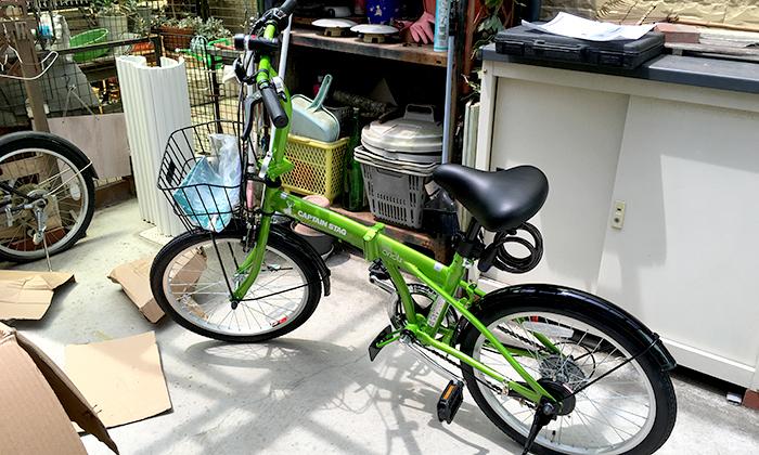 amazon限定 キャプテンスタッグ折りたたみ自転車「オリクル」買ったらランチの幅が広がった