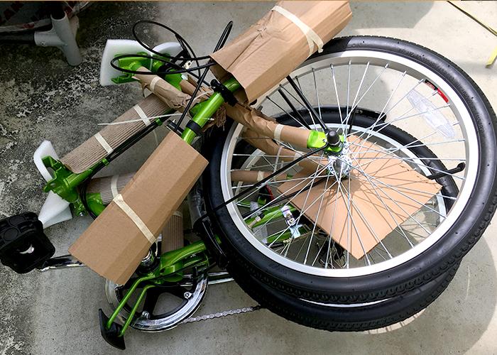 キャプテンスタッグ折りたたみ自転車